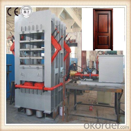 Short Cycle Hydraulic Door Panel Hot Press Machine