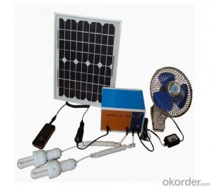 CNBM Solar Home System Roof System Capacity-10W-3