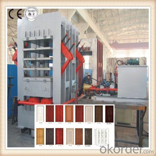 Melamine Wooden Door Lamination Hot Press