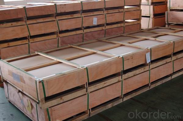 Mill Finined Aluminum Sheets 5xxx AA5083