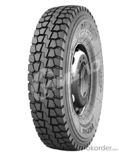 Bus and Truck Radial Tyre with High Quality YB258