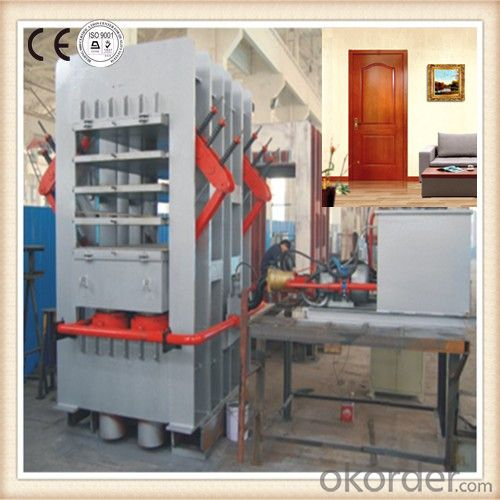 Veneer Machine for Door Skin and Natural Wood Door Skin