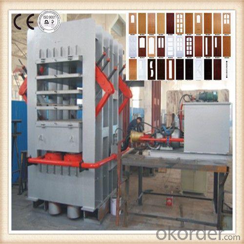 Double Side Door Face Pattern Veneer Machine