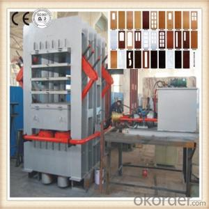 Double Side Door Face Pattern Veneer Machine