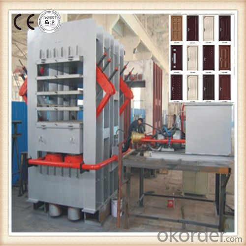 Melamine Door Face Veneering Machine Made in China