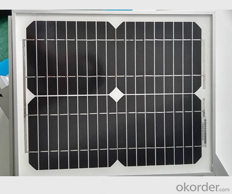 Monocrystalline Solar Panel CNBM-10w High Performance 36 Cell