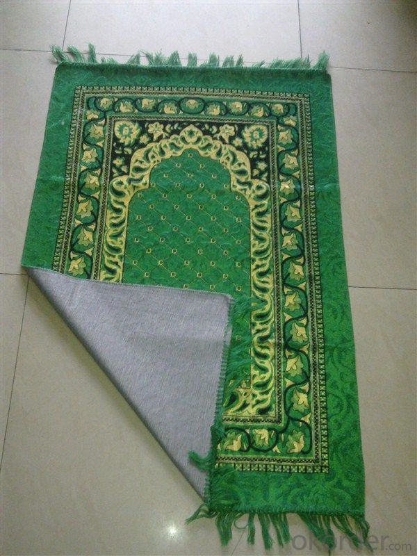 Cheap Muslim Prayer Carpet Portable for Travel with Compass