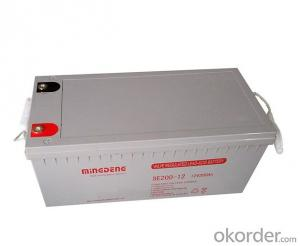 Gel System Inverter Sealed Lead Acid Agm 12V 24ah Battery