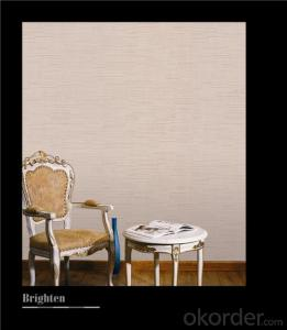 Fabric Backed Wallcovering Classic Washable Vinyl Wallcovering For Interior Decoration