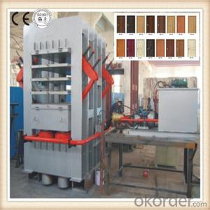 Multi-layer Moulding and Veneering Machine for Door Skin