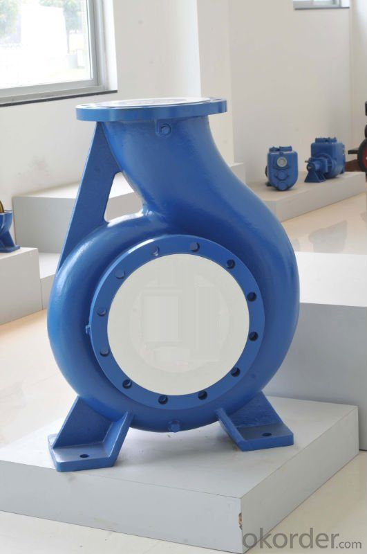 Single-Stage Double Suction Water Pump for Irrigation