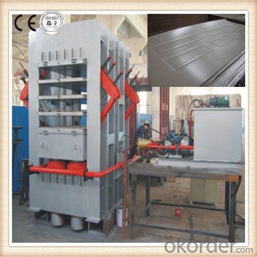 Melamine Door Veneer Hot Press Machinery