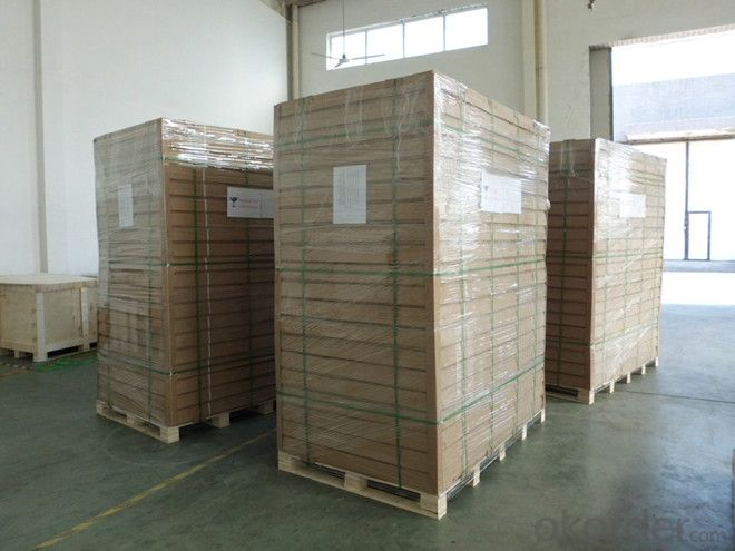 CNBM PV Silicon Modules Made in China to Overseas Market