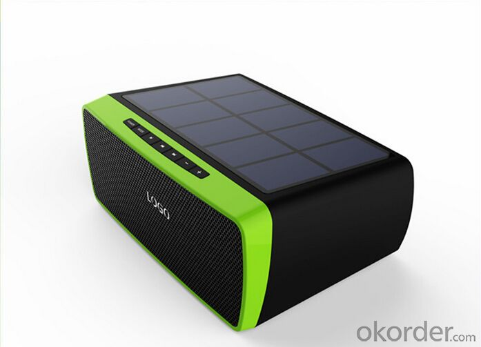 10000mah Solar Power Bank Battery Charger and speaker
