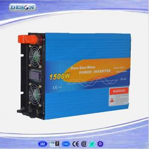 Solar Pure Sine Wave Power Inverter 212V/24/48VDC to 110V/230VAC 1500W