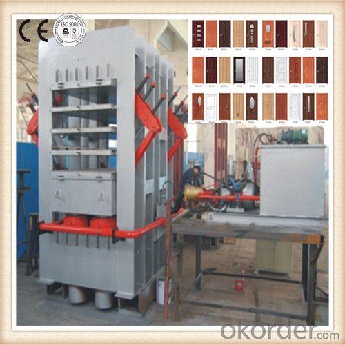Multilayer Veneer Laminated Wood Door Machine