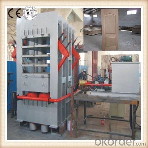 Two-sides Door Veneer Hot Press  Machine