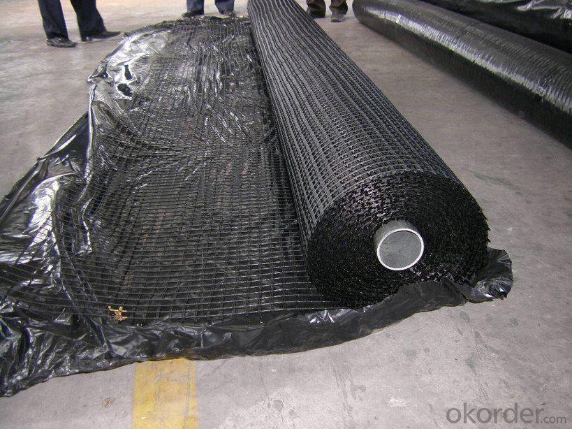 Fiberglass Geogrid Manufacturer with Asphalt Pavement