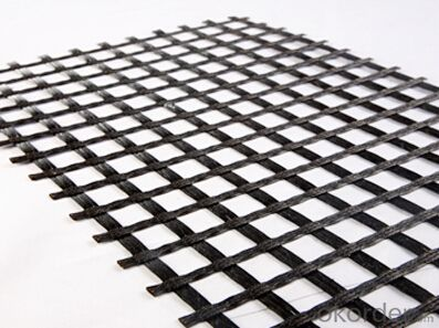 Fiberglass Geogrid Manufacturer with 20~120KN/m