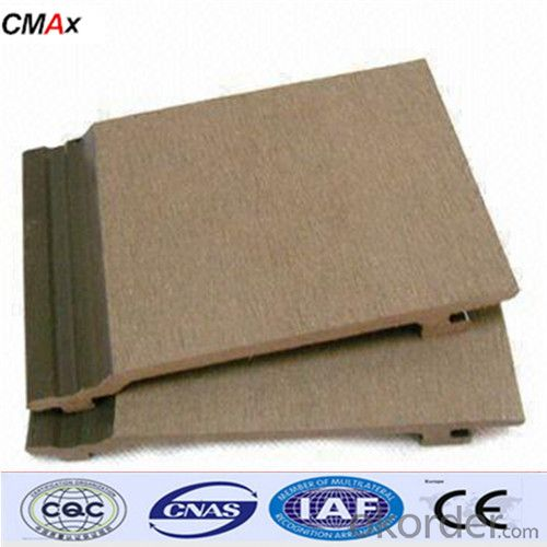 High quality CE certificate Wood Plastic Composite Decking From China