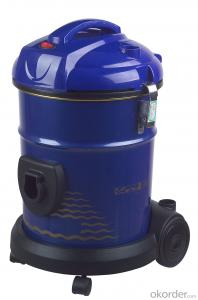 Water Filtration Vacuum Cleaner GS/RoHS Customized Wet Dry Cylinder
