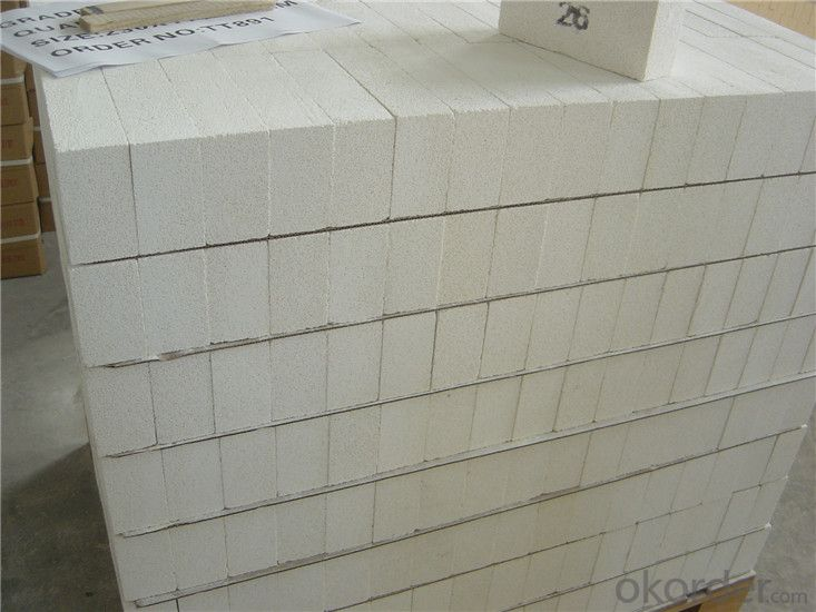 High Temperature Fireproof Fire Clay Refractory Heatinsulation Bricks for Thermal Equipment