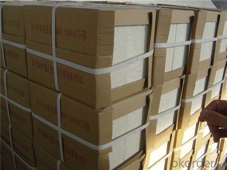 Fire Clay Bricks Insulation for Glass Tanks, Shaped Fire Brick Refractory Customized