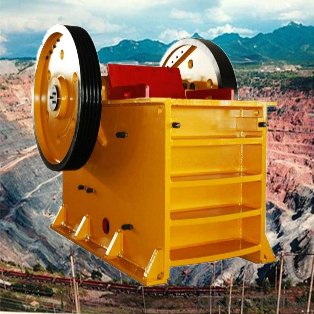 Stone Jaw Crusher Used in Mining Machinery