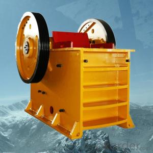 Stone Jaw Crusher PE750*1060 Capacity 105-195t/h