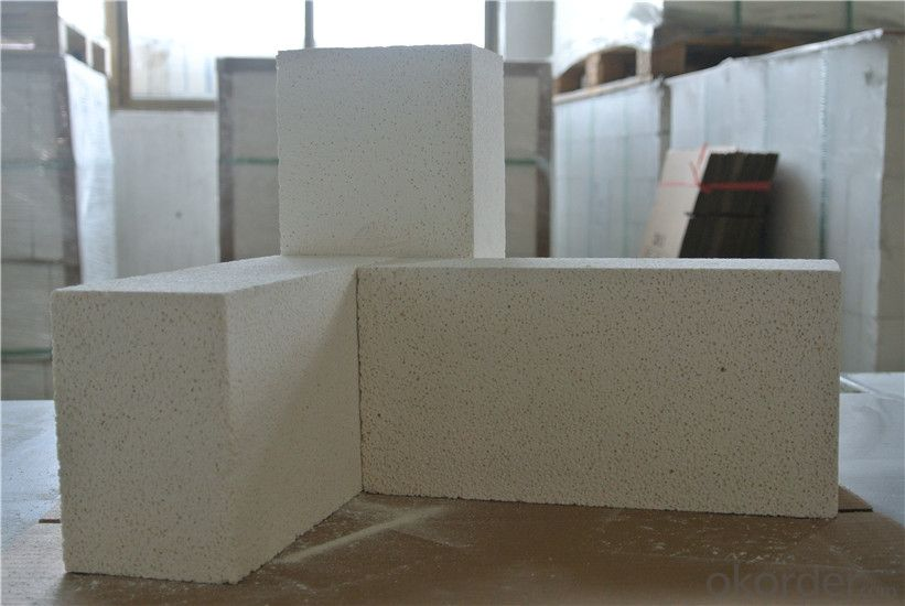 Refractory Light Weight Insulation Fire Clay Brick for Heating Furnace