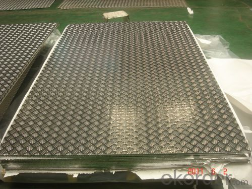 Embossed Aluminum Sheet with Factory Price 5052 Five Bars 1.5mm-8.0mm Thick