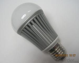 High Power 180 Degree 5W A60 LED Bulb E27