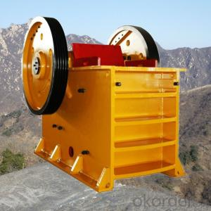 Stone Jaw Crusher Used in Quarry Primary