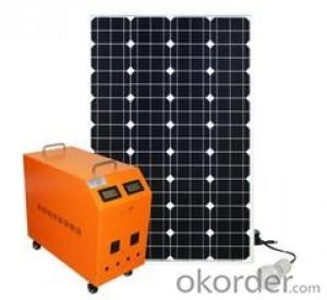 Black Mono Solar Panels Solar System for Home