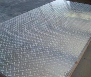 Aluminium Stucco Embossed Sheet 5052 1.2mm Thickness