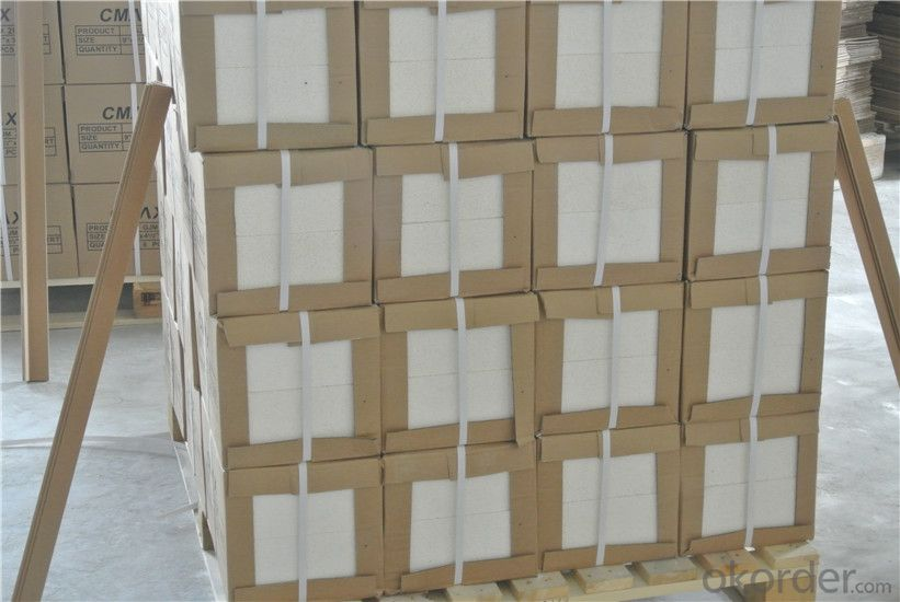 High Refractorinessfire Clay Refractory Heat Insulation Bricks for Heating Furnace