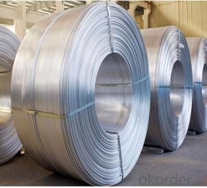 Aluminum Wire Rod with Competitive price from A Factory