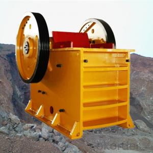 Stone Jaw Crusher Primary Unit Capacity 15-65 t/h