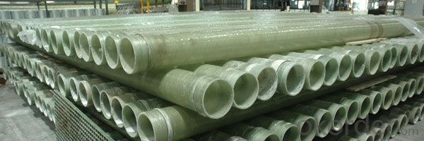 FRP Pipe Fiber Reinforce Plastic Pipe High Quality with Certificates