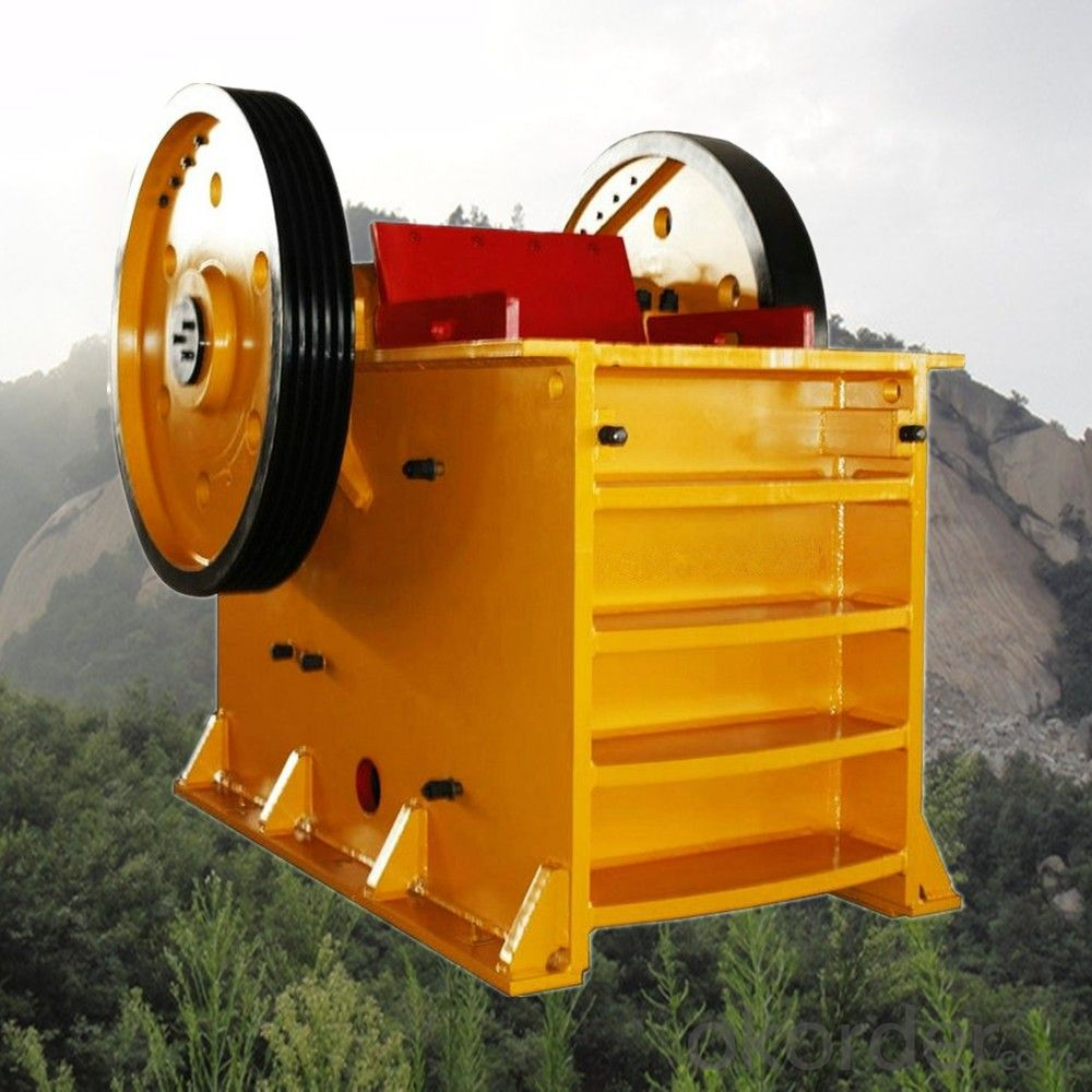 $3000-30000Stone Jaw Crusher Widely Used in Granite/Griotte/Ores