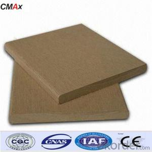 CE Certificated Hollow Composite Decking from CNBM