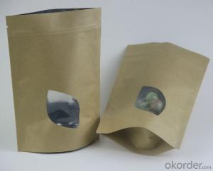 Kraft Paper Laminated with PP or BOPP with Window for Packing