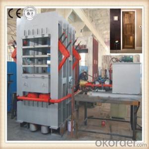 Veneer Faced Door Skin Hydraulic Press Machine