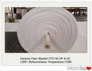 Ultra-Thin 8mm Fireproof Thermal 1260 Ceramic Fiber Blanket for Coke Oven Door Made In China