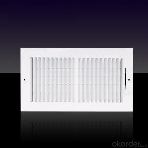 Linear Air Grilles For Ceiling and Sidewall Use