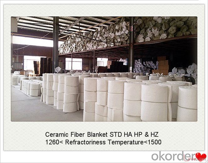 Aluminum Silicate Ceramic Fiber Blanket for Cement Kiln Made In China