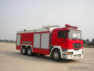 Fire Fighting Truck Top  HOWO