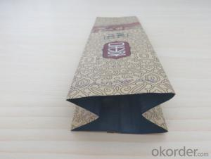 Craft Paper Laimated Packing Bag with Air Hole Used for Coffee Packing