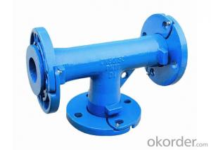 Ductile Iron Pipe Fittings All Flanged High Quality DN1400 EN598 for Water Supply