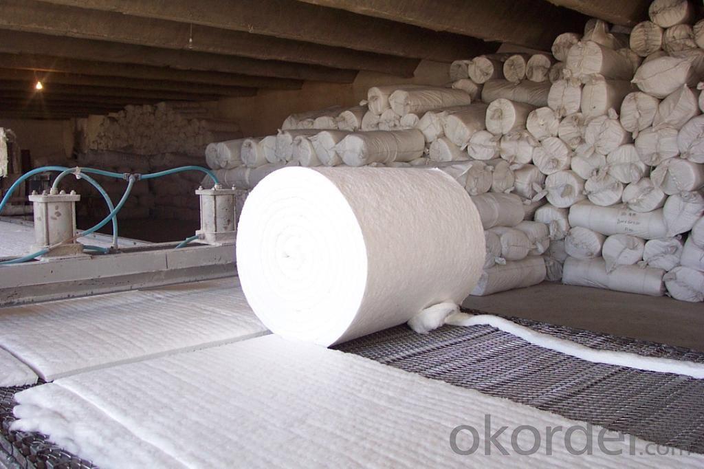 Produce High aluminium grade aluminum Ceramic Fiber Blanket